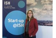Innovative Start-ups auf der ISH