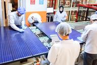 Anstieg der Photovoltaik-Modulqualität