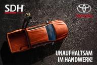 Unaufhaltsam im Handwerk mit Toyota und SDH