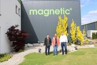 Neue Gebietsleiter bei magnetic