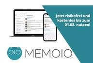 Bis zum 1. August den Messenger Memoio kostenlos nutzen
